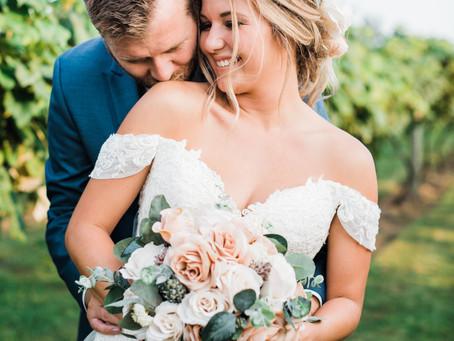 Chateau de Pique Wedding | Seymour, Indiana | Paylee & John