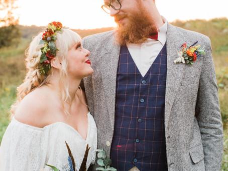 Martinsville, Indiana Wedding | Rustic Gatherings Wedding & Event Barns | Haley & Joey