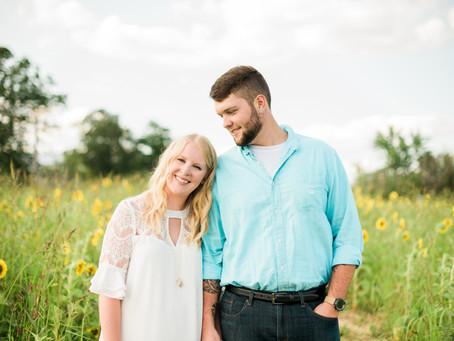 Indianapolis Engagement | Tuttle Orchards | Canal Walk | Brooke & Kyle