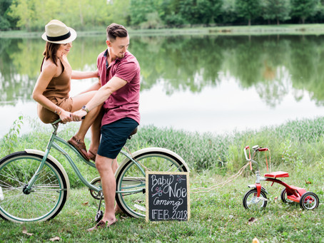 Indianapolis Baby Announcement | Jake & Ashley
