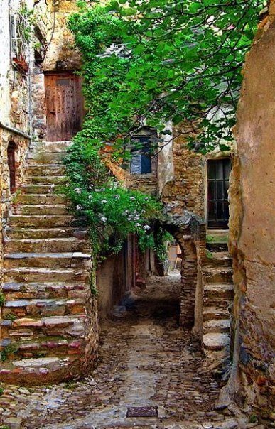 Ancient Passageway, Provence, France