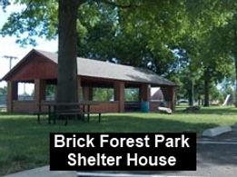 Forest Park Brick Shelter