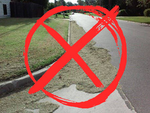 ATTENTION PROPERTY OWNERS: POSSIBLE FINES FOR YARD WASTE / DEBRIS