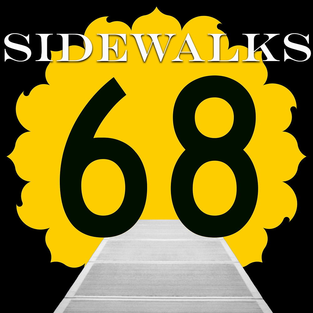 Sidewalk at K68