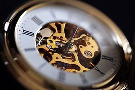 愛着ある古いアンティーク時計