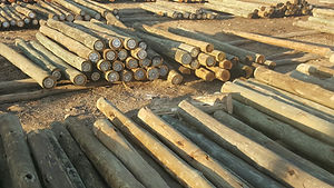 Outpost Treated Timber CCA Treated Gum Poles