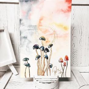 A mushroom walks into a bar