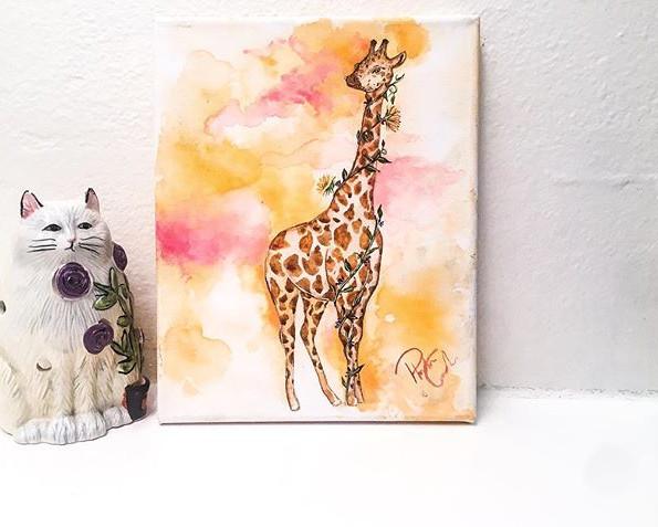 """""""You bet giraffe I can"""""""