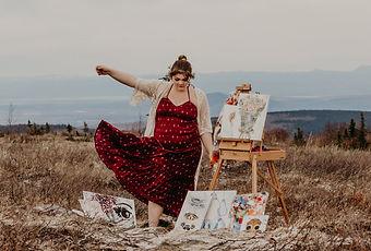 Heart of Phoebe Artist, Phoebe Cochran