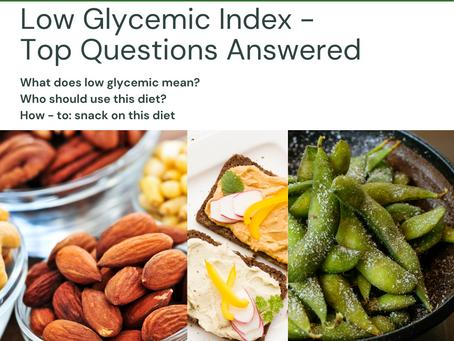 Low Glycemic Index Diet