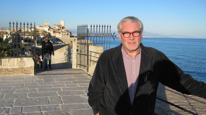 Holger i Antibes. 2012.