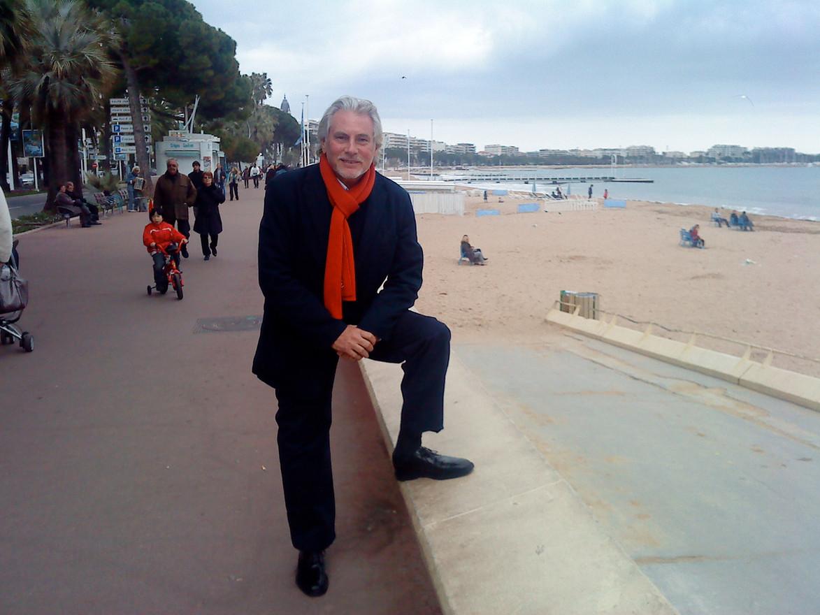 Holger i Cannes på Croissetten. År 2010.