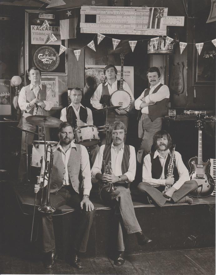 Jazz Doctors på jazzpuben Stampen anno 1978.