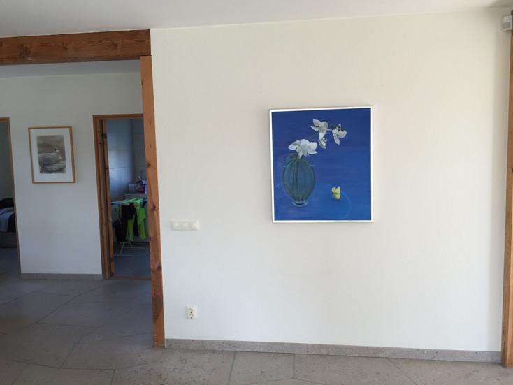 Tavla målad av Maria, en gåva till Tobbe Björck. 2015.