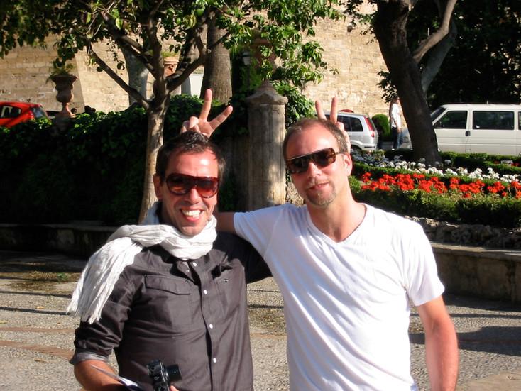 Holgers söner Jesper och Jonas.