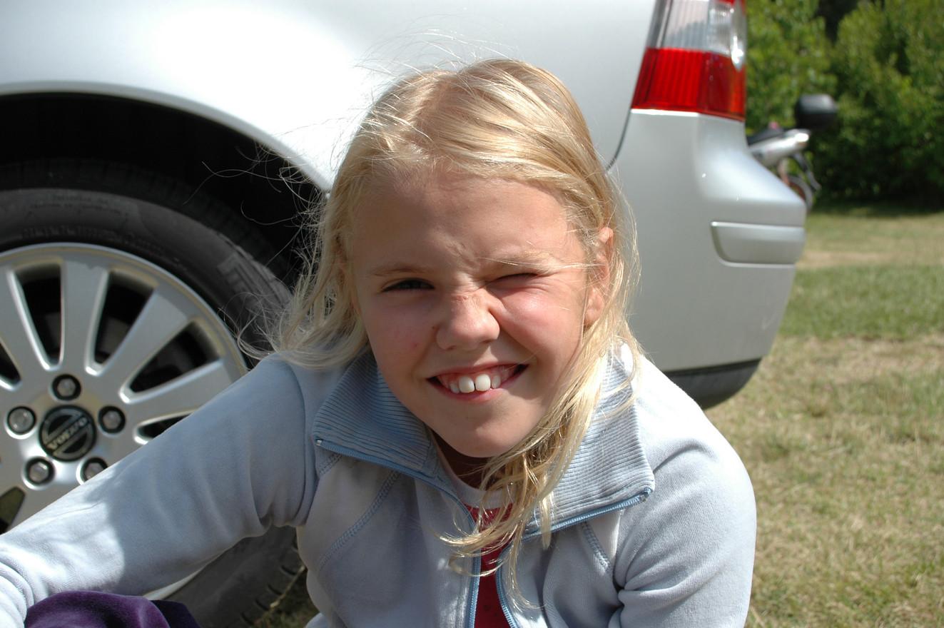 Alicia Gross 9 år sommaren 2005.