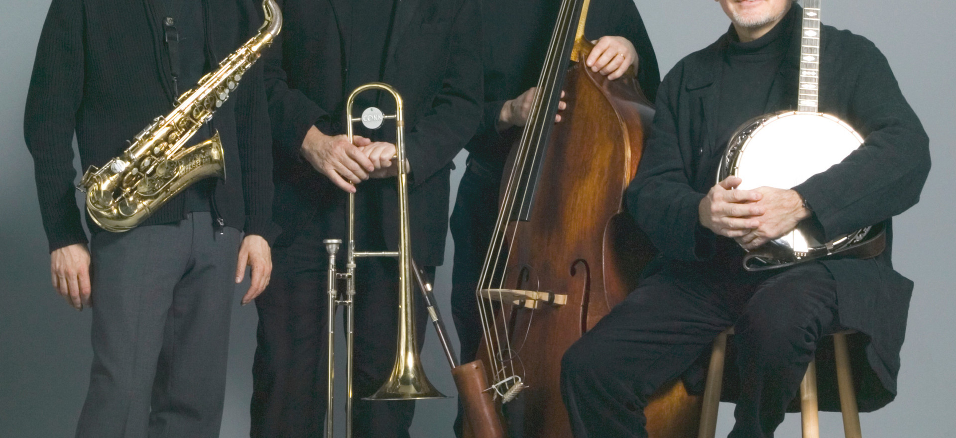 The Classic Jazz Quartet from Sweden. Photo: Ateljè Uggla, Stockholm, Sweden.