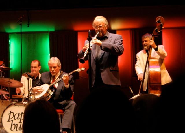 Mr Acker Bilk och Holger är gäster med Papa Bues Viking Jazz Band, Berwaldhallen 2007.