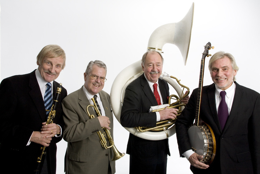 Anrika Lyxkvartetten; Erling, Eddie, Tommy, Holger. Anno 2006.