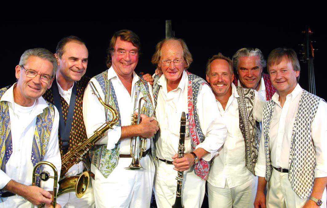 Dessa glada herrar tillhör The Trad Brothers. Holger Gross vid kameran.