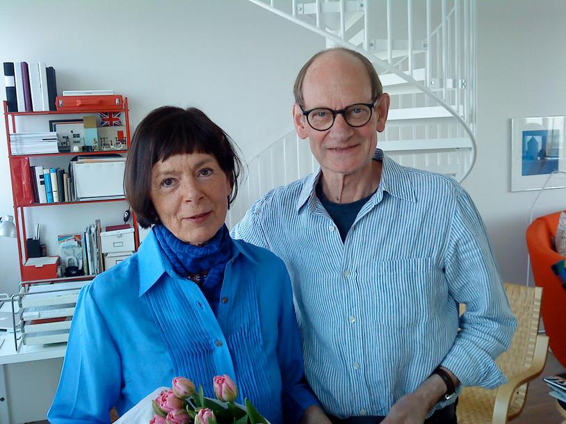 Kära vännerna Jill Dufwa och Lasse Törnqvist.