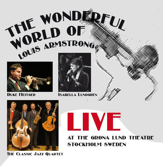 Framsida på omslag till CD från konsert på Grönalundsteatern 2013.