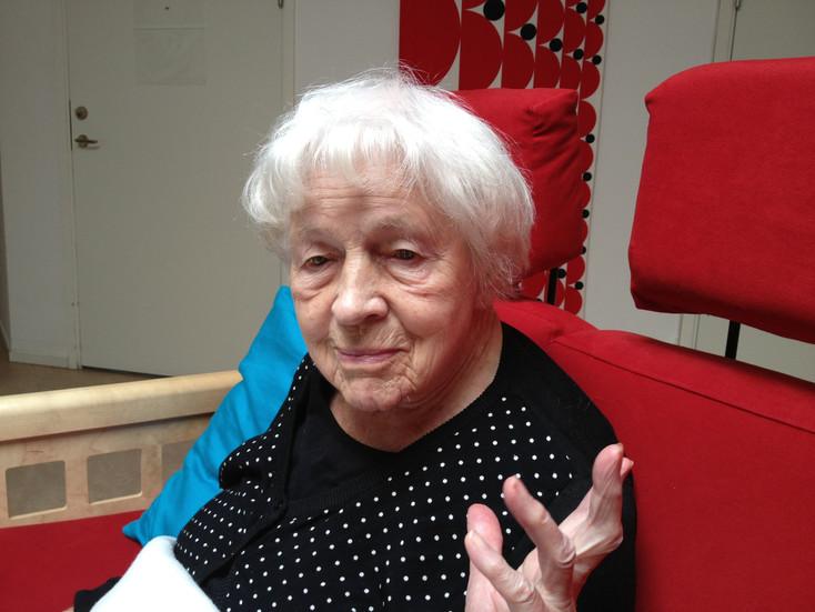 Mor Ruth Gunhild Gross f. Nyqvist. 2014.