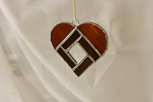 Coeur à suspendre