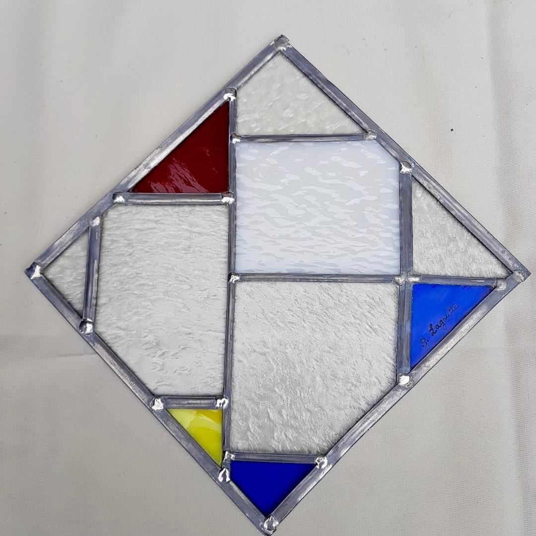 Vitrail Mondrian