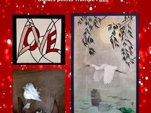 L'atelier au vitrail de Saint Maur à la boutique éphémère