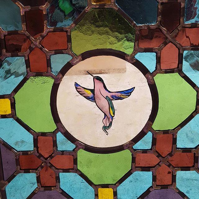 Vitrail Colibri de Balata (Vendu)
