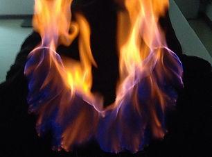 Горящие пятки _) #огненныймассаж #огненн