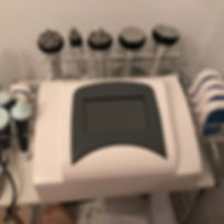 New machine offering cavitation and radio frequency treatments