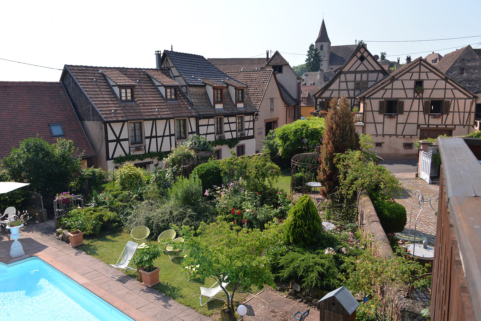 piscine+jardin