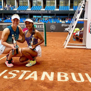 ALEXA GUARACHI DEMUESTRA GRANDEZA EN EL CIRCUITO WTA