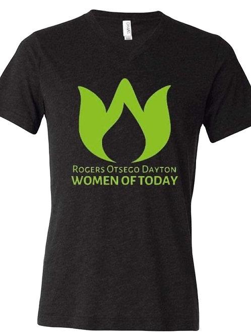 V-Neck T-Shirt - Big Logo