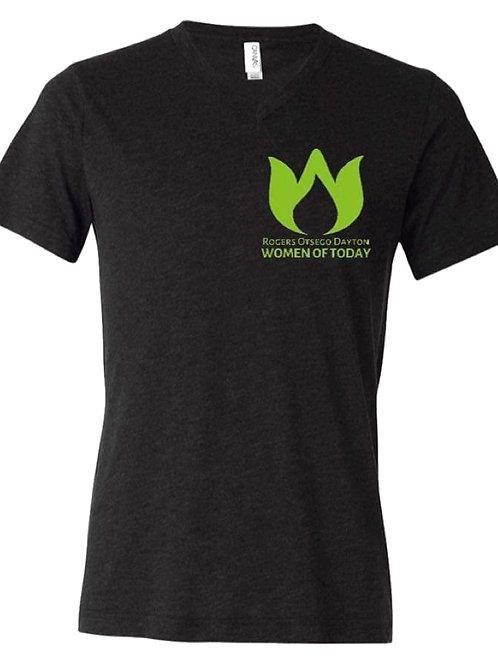 V-Neck T-Shirt - Small Logo