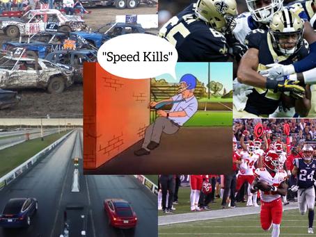 Speed kills when it has space