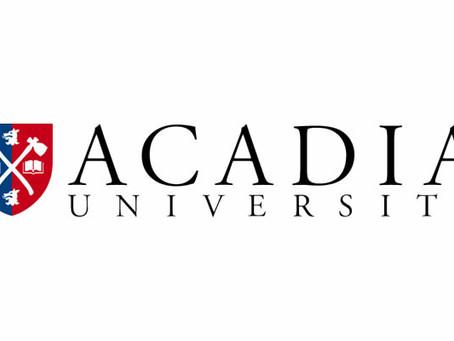 Acadia Athletics joins Sideline