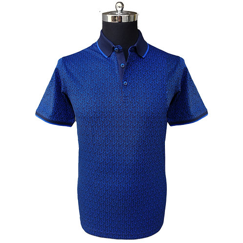 Konig - Blue Bikes Polo Short Sleeves