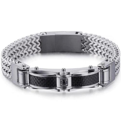 Konig Genève - Double Steel Buckle Bracelet