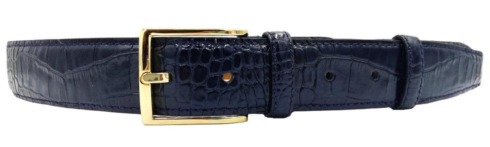 Konig - Dark Blue Crocodile 3.5cm