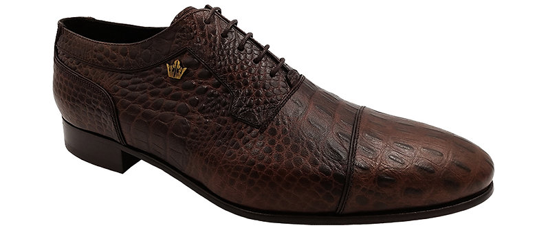 Konig - 1912 Croco Brown