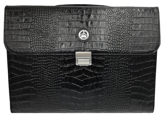 Konig Genève - Briefcase Black Croco