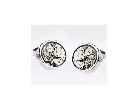 Konig Cufflink - Watch Movement Series Elipse