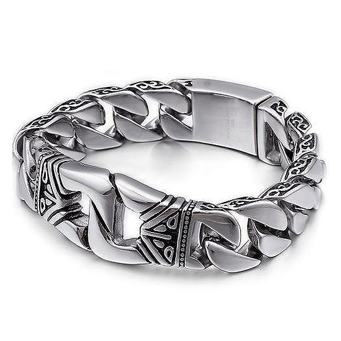 Konig - Polynesian Cuban Link Bracelet