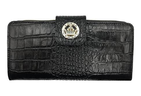 Konig - Women Wallet Black Aligo