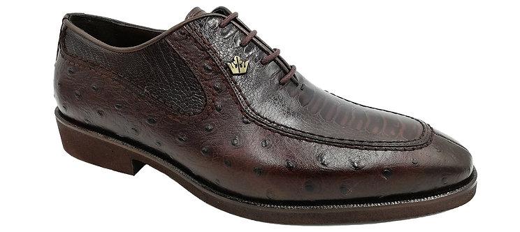 Konig Genève - Mr. President Brown Ostrich - Chaussures Habillées