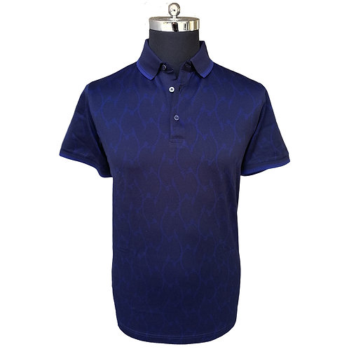 Konig - Royal Blue Polo Short Sleeves