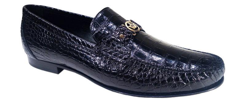 Konig - 7294 Croco Black - Chaussures Habillées